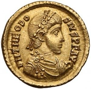 Teodozjusz I (379-395), Solid - cesarz depcze wroga - SM