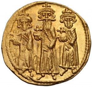Herakliusz, Herakliusz Konstantyn i Herakleonas (610-641), Solid - IB