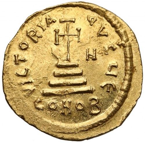 Herakliusz i Herakliusz Konstantyn (613-641), Solid - N