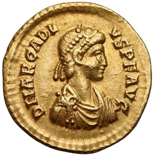 Arkadiusz (383-408 od 395 cesarz wschodu), Solid - dwaj cesarze na tronie