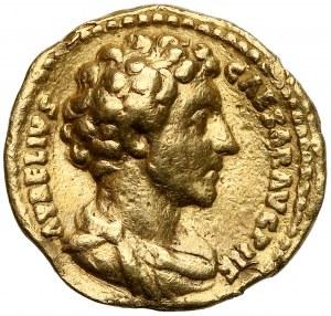 Marek Aureliusz (jako Cezar 139-161), Aureus - rzadki
