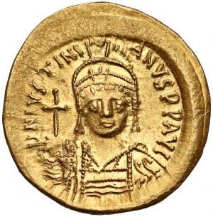 Justynian I (527-565), Solid - popiersie z krzyżem