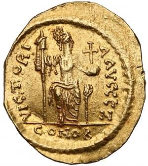 Justyn II (565-578), Solid - personifikacja Konstantynopola