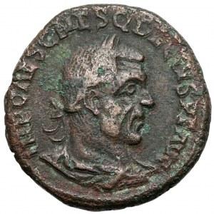 Trajan Decjusz (249-251), Viminacium w Mezji Górnej, Sesterc kolonialny (250ne)