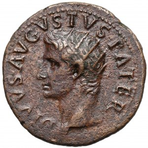 Oktawian August (27pne-14ne), Dupondius pośmiertny