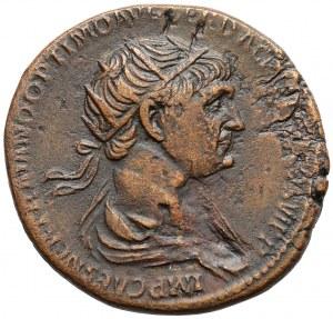 Trajan (98-117), Dupondius - Felicitas