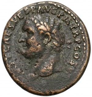 Tytus (79-81), As - popiersie w lewo - Spes