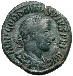 Gordian III (238-244), Sesterc - Laetitia
