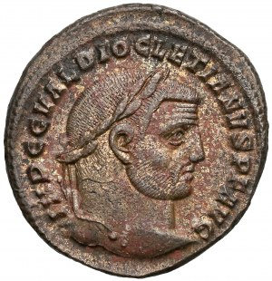 Dioklecjan (284-305), Follis - Geniusz ludu