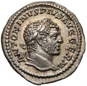 Karakalla (198-217), Denar - Jowisz na tronie