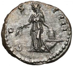Antoninus Pius (138-161), Denar - Annona - ładny egzemplarz