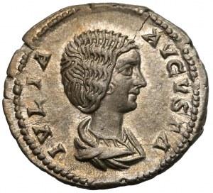 Julia Domna (żona Septymiusza Sewera), Denar - Pietas