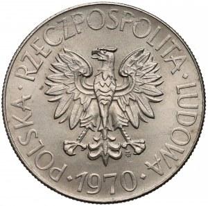 Próba MIEDZIONIKIEL 10 złotych 1970 Kościuszko - b. rzadka