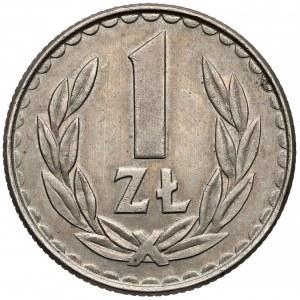 Odbitka w MIEDZIONIKLU 1 złoty 1984