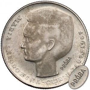 Próba MIEDZIONIKIEL 10 złotych 1967 Skłodowska-Curie - rzadkość