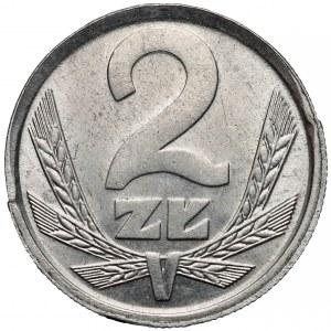 Odbitka w ALUMINIUM 2 złote 1983