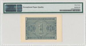 1 złoty 1940 - C - PMG 67 EPQ