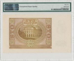 100 złotych 1940 - E - PMG 65 EPQ
