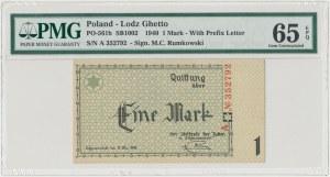 Getto 1 marka 1940 - A - PMG 65 EPQ