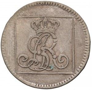 Poniatowski, Grosz srebrny 1766 F.S - z napisem