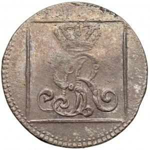Poniatowski, Grosz srebrny 1767 F.S. - ładny