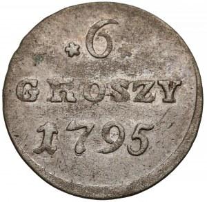 Poniatowski, 6 groszy 1795