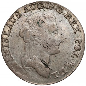 Poniatowski, Złotówka 1791 E.B.