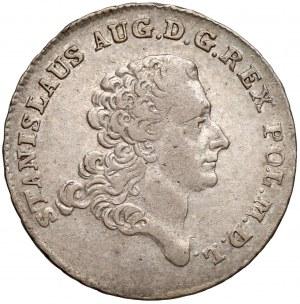 Poniatowski, Dwuzłotówka 1770 IS
