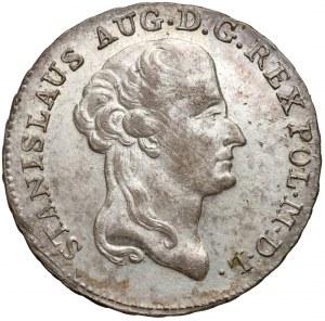 Poniatowski, Dwuzłotówka 1787 E.B. - bardzo ładny