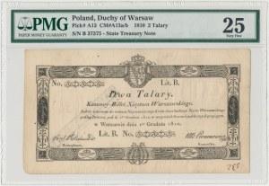 2 talary 1810 - Jaraczewski - PMG 25