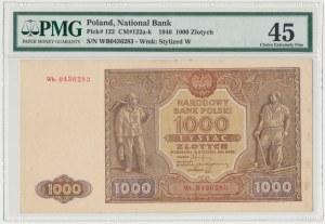 1.000 złotych 1946 - Wb. - seria zastępcza - PMG 45