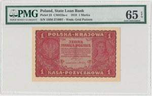 1 mkp 08.1919 - I Serja HM - PMG 65 EPQ