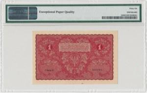 1 mkp 08.1919 - I Serja R - PMG 66 EPQ