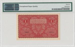 1 mkp 08.1919 - I Serja G - PMG 66 EPQ