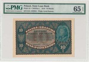10 mkp 08.1919 - II Serja CE - PMG 65 EPQ