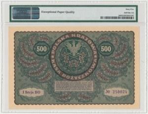 500 mkp 08.1919 - I Serja BO - PMG 65 EPQ