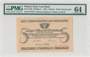 5 mkp 05.1919 - K - PMG 64