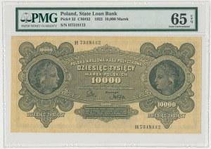 10.000 mkp 1922 - H - PMG 65 EPQ