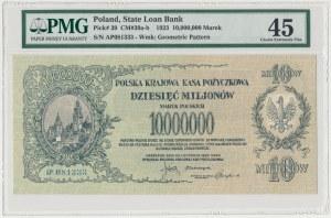 10 mln mkp 1923 - AP - PMG 45