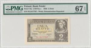 2 złote 1936 - DŁ - PMG 67 EPQ