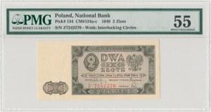 2 złote 1948 - Z - PMG 55