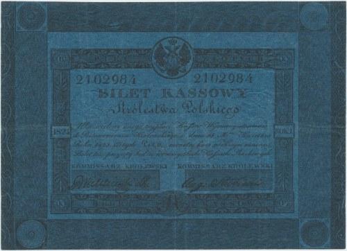 5 złotych 1824 - Wichliński / Słubicki - PIĘKNY - rzadkość