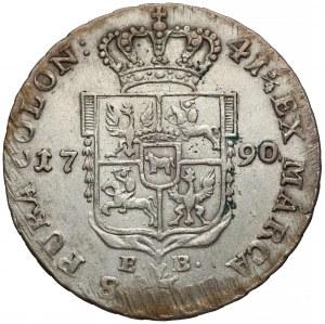 Poniatowski, Dwuzłotówka 1790 E.B.
