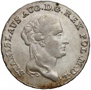 Poniatowski, Dwuzłowówka 1793 M.V. - przebitka daty