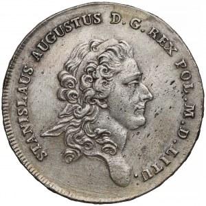 Poniatowski, Talar 1776 E.B. - popiersie ze wstęgą