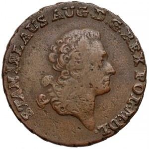 Poniatowki, Trojak Warszawa 1792 E.B. - Brenn
