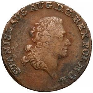Poniatowski, Trojak Warszawa 1792 M.V. - 'mennica'