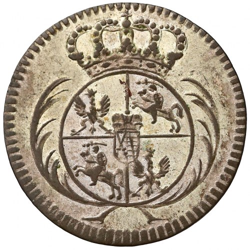 August III Sas, Półtorak Lipsk 1753 - PULTORAK - b. ładny