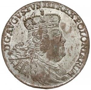 August III Sas, Szóstak Lipsk 1756 EC - b. ładny
