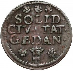 August III Sas, Szeląg Gdańsk 1754
